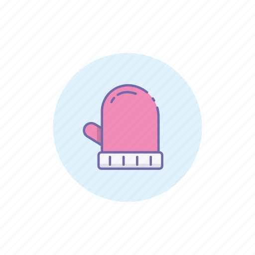 christmas, cloth, cold, gloves, hand, muff, winter icon
