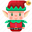 character, costume, elf, fairy, fantasy, folklore, tale icon