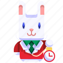 bunny, christmas, easter, mammal, pet, rabbit, wildlife icon