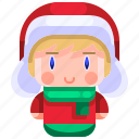 avatar, boy, christmas, hat, winter, young icon