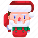 avatar, christmas, claus, father, santa, xmas icon