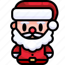 avatar, christmas, claus, father, santa, user, xmas