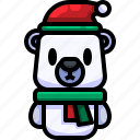 avatar, bear, christmas, grizzly, life, mammal, wild icon