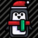 animal, bird, christmas, penguin, wildlife icon