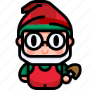 avatar, character, fairy, fantasy, folklore, gnome, tale icon