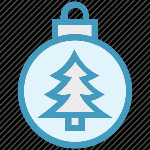 ball, bauble, christmas, christmas ball, decoration, holidays, tree icon