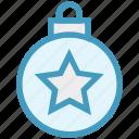 ball, bauble, christmas, christmas ball, decoration, holidays, star