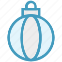 ball, bauble, christmas, christmas ball, decoration, holidays, party icon