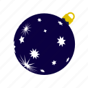 ball, christmas, darkblue, stars, xmas, xmasballs icon