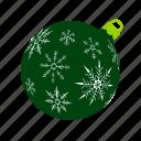 balls, green, mas, snowflakes, x, xmas, xmasballs icon