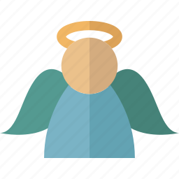 angel, announce, christmas, guardian, peace icon