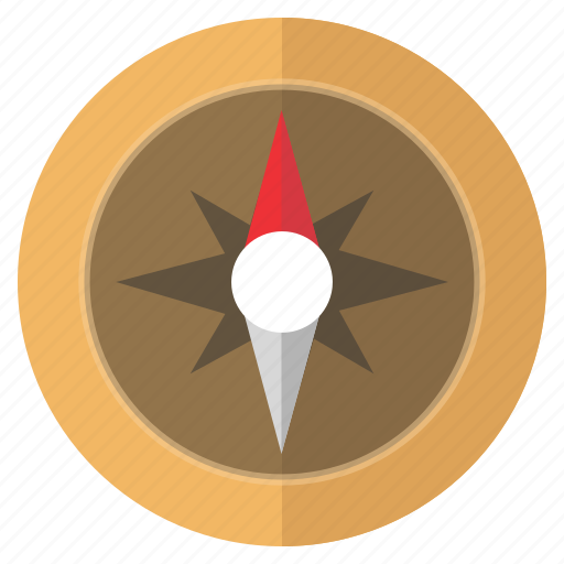 compass, direction, guide, location, north icon