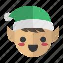 drawf, elf, elves, help, helper icon