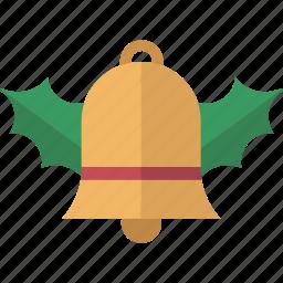 bell, chime, christmas, kiss, mistletoe icon
