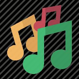 carol, christmas, music, notes, sing icon