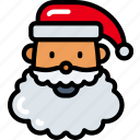 character, christmas, december, holidays, santa icon