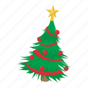 cartoon, fir, fir-tree, pine, spruce, tree, xmas icon