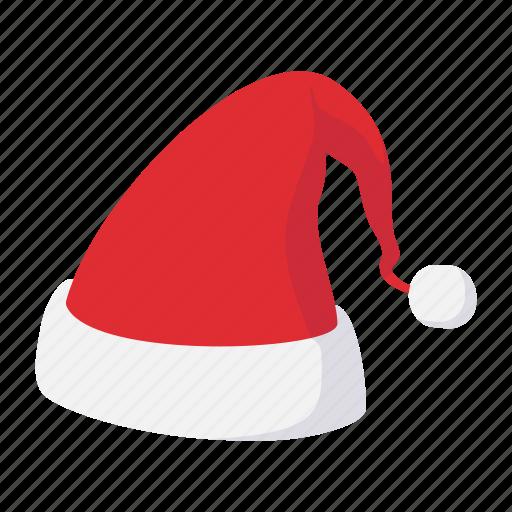 cartoon, face, hat, head, header, new, santa icon