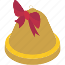 bell, christmas, decoration, xmas, holiday icon