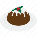 christmas, dessert, food, pudding, sweet icon