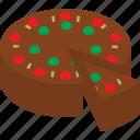 cake, dessert, food, fruit, fruitcake, xmas, cooking