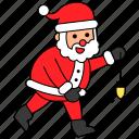 avatar, character, christmas, led, santa claus, xmas icon