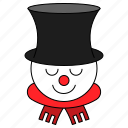 avatar, character, christmas, snowman, xmas icon