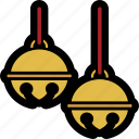 bells, christmas, christmas bells, decoration, jingle, jingle bells icon
