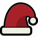 christmas, hat, holiday, santa icon