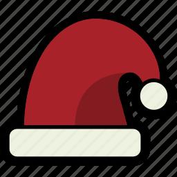 christmas, hat, holiday, santa icon