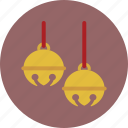 bells, christmas, holiday, jingle icon