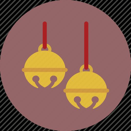 bells, christmas, holiday, jingle icon