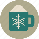 coffee, cup, hot chocolate, mug, tea, warm icon