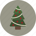 christmas, holiday, tree icon