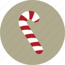 candy, cane, christmas, food icon