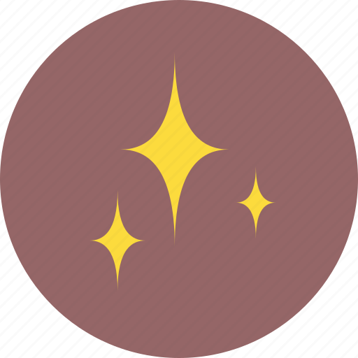 christmas, north, star, twinkle icon