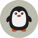 animal, penguin, winter icon