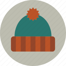hat, holiday, warm, winter icon