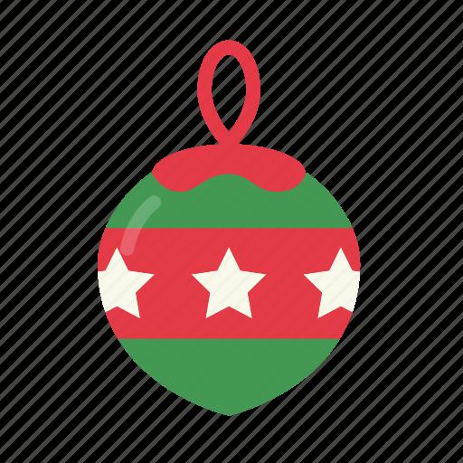 celebration, christmas, christmas ball, decoration, ornament, xmas icon