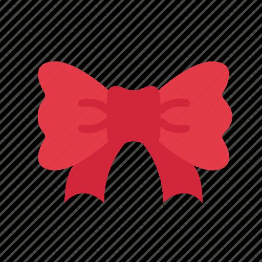 bow, celebration, christmas, decoration, holiday, present, ribbon icon