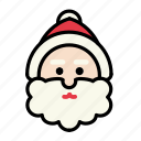 christmas, december, santa, snow, xmas icon
