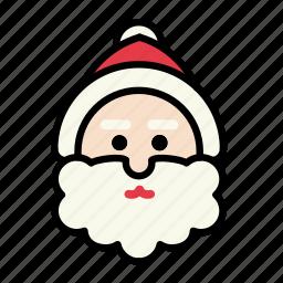 christmas, december, santa, snow, xmas icon