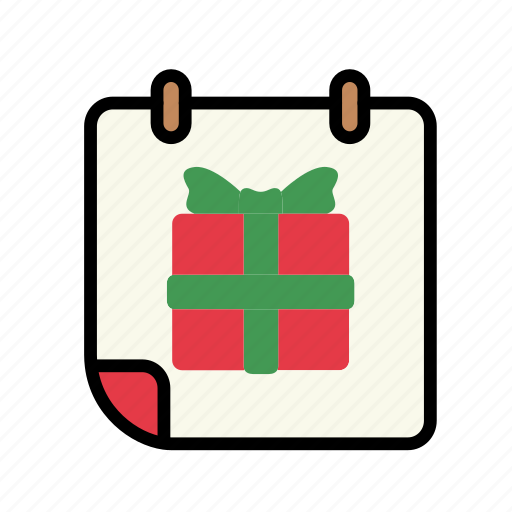 birthday, christmas, decoration, special day, winter icon
