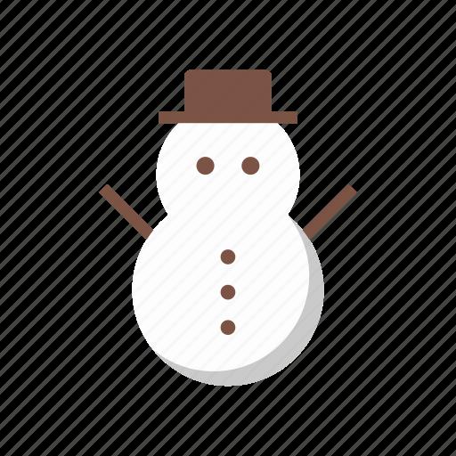 christmas, decoration, fc, snow, snowman, xmas icon