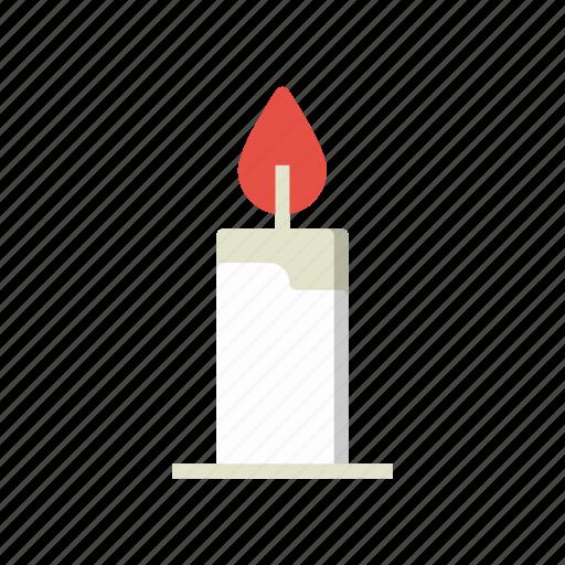 candle, fc, light, xmas icon