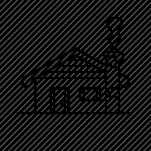 christmas, house, snow, snowy, winter, xmas icon