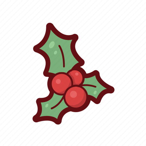 berry, christmas, color, decorate, winter, xmas icon