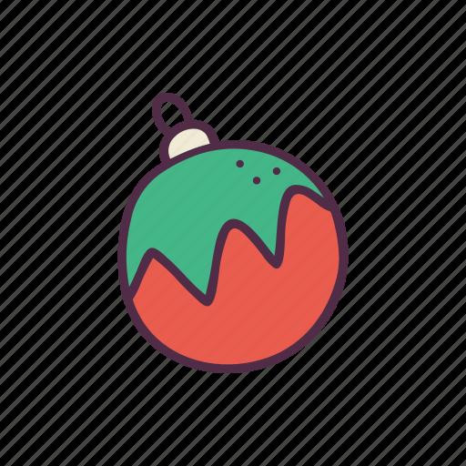 ball, christmas, decoration, holidays, newyear, ornament, xmas icon