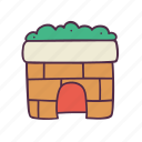 chimney, christmas, decoration, fireplace, holidays, newyear, xmas icon