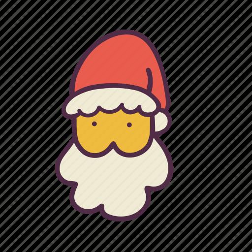christmas, claus, holidays, man, newyear, santa, xmas icon